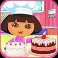 Little Dora Birthday Cake