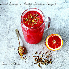 Creamy Blood Orange Smoothie