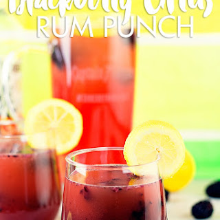 Blackberry Citrus Rum Punch #SunsOutRumsOut