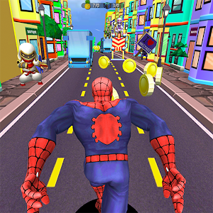 Subway Spider-Run Adventure World For PC (Windows & MAC)