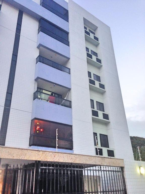Apartamento residencial para locação, Cabo Branco, João Pessoa - AP5033.