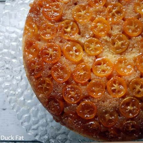 Kumquat Upside-down Cake