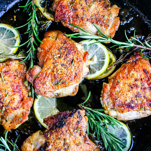 Sweet Rosemary Chicken Thighs