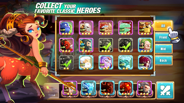 We Heroes - Born To Fight APK screenshot thumbnail 5