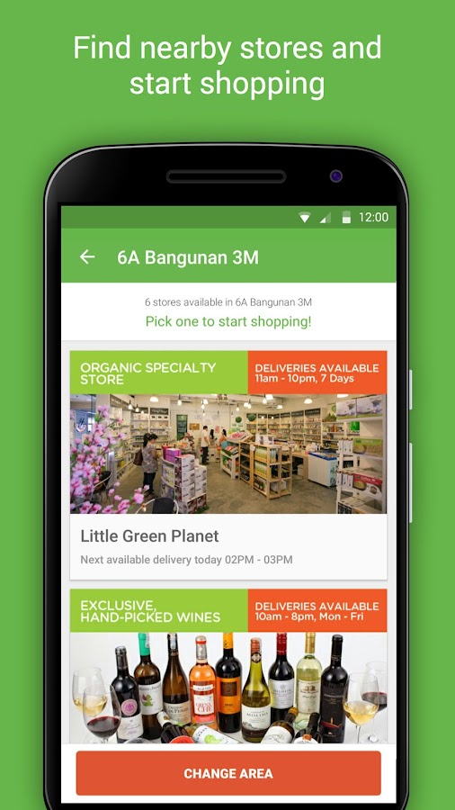 HappyFresh - Grocery Delivery Screenshot 1