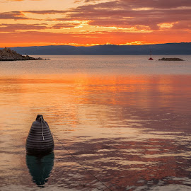 sunset by Eseker RI - Landscapes Waterscapes