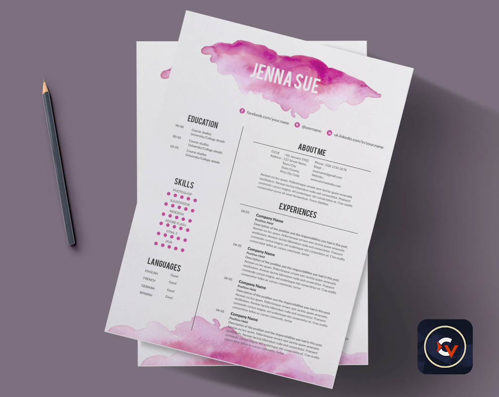 Funky Resume Builder Pro Collection - Resume Template Samples ...
