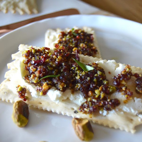Cranberry Pistachio Spread! The perfect holiday appetizer.