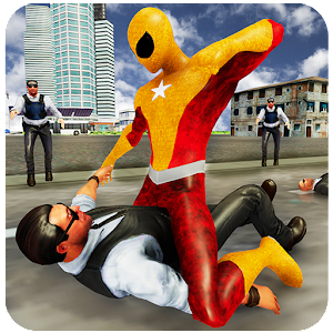 Flying Superhero Freedom Fighter VS SuperVillain For PC / Windows 7/8/10 / Mac – Free Download
