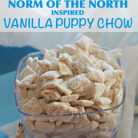Norm of the North Movie {Inspired} Vanilla Puppy Chow Mix