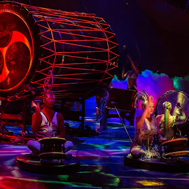Mystere by John Matzick - People Musicians & Entertainers ( las vegas, performance, art, troupe, costume, performing arts, theater, show, stage, culture, stageband, circus )