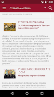 Screenshot of Salón de Gourmets