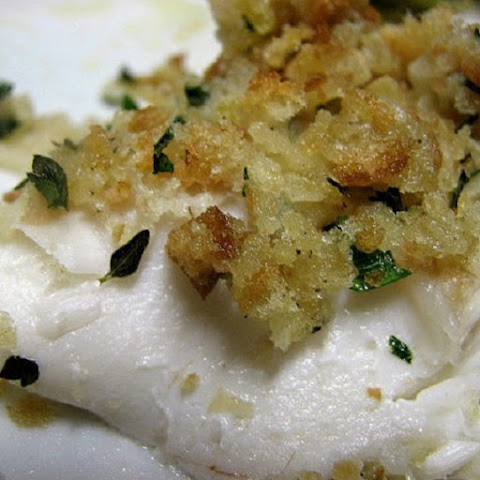 Oven Baked Haddock with Herbed Crumbs