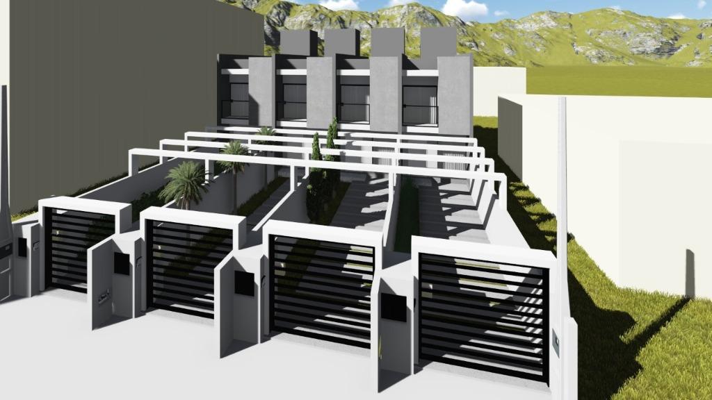 Sobrado com 2 dormitórios à venda, 70 m² por R$ 195.000 - Mata Atlântica - Tijucas/SC