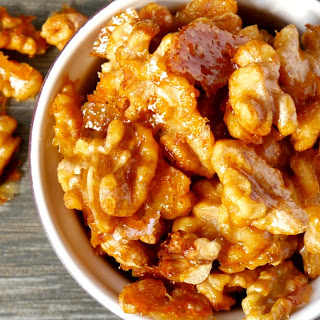 Hot Candied Walnuts
