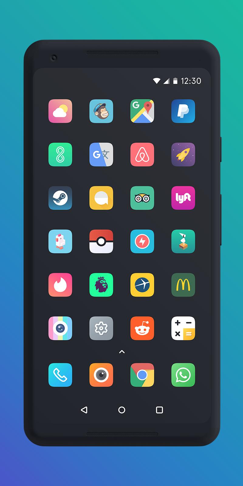 Borealis - Icon Pack Screenshot 1