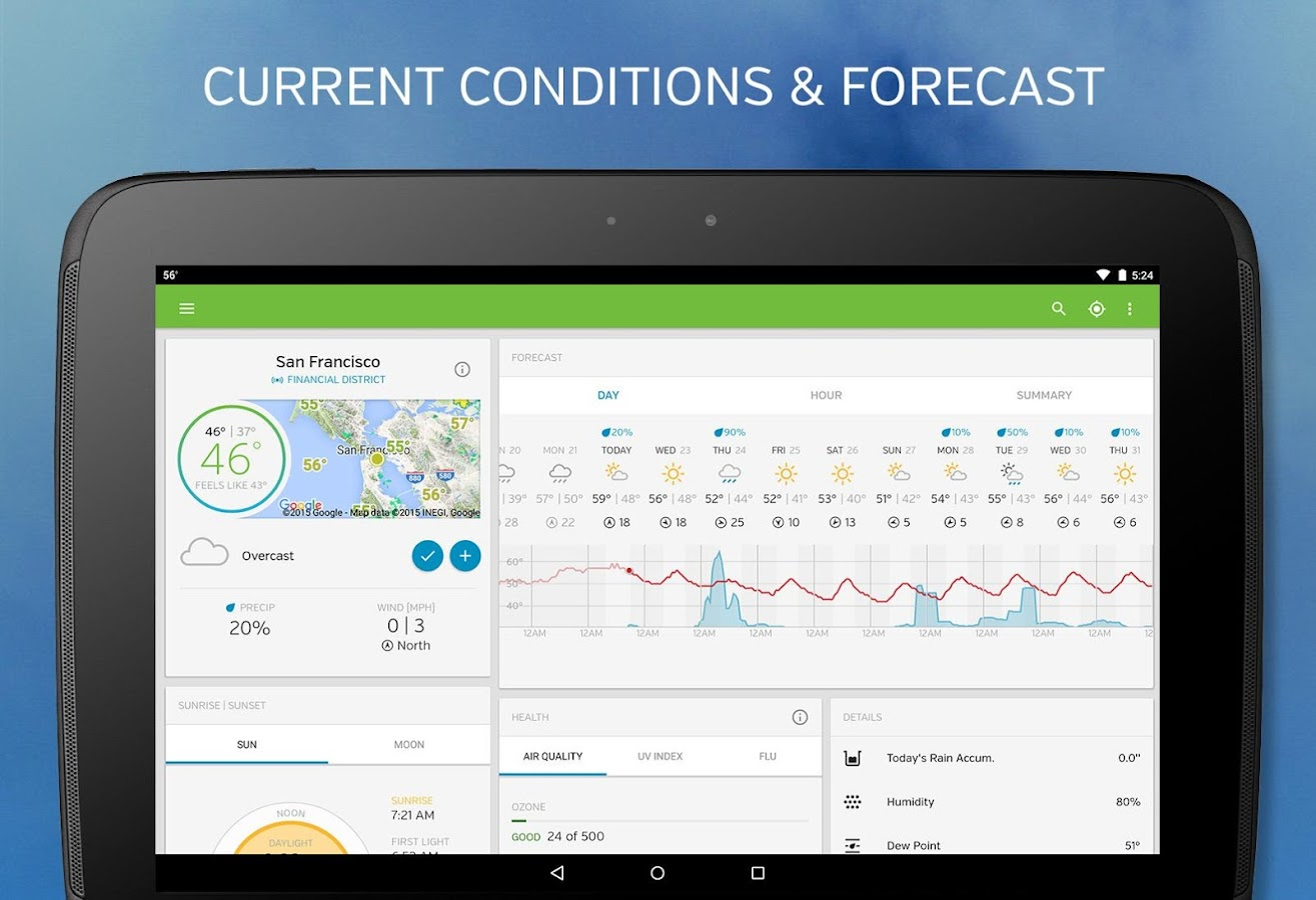 Weather Underground Screenshot 8