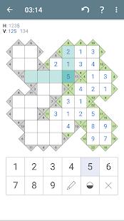 Kakuro cross sums apk kk 2 1 4 by pink pointer free - Kakuro cross sums combinations table ...
