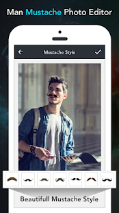 Mustache Photo Editor - screenshot