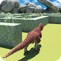 Game Real Jurassic Dinosaur Maze Run Simulator 2017 APK for Kindle