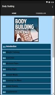 App Body Building Secret APK for Windows Phone