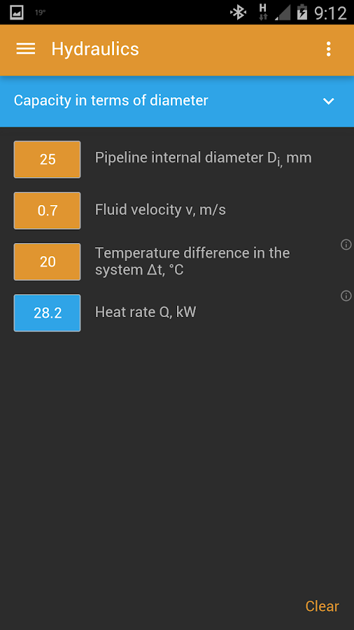HVAC Calculator Pro Screenshot 2