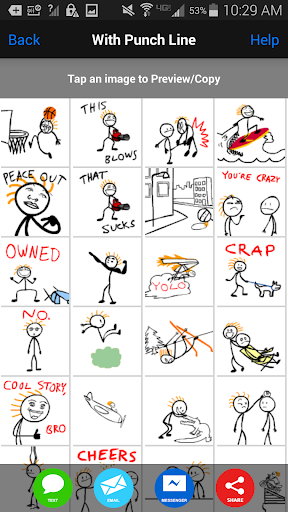 Stick Texting-The Emoji Killer - screenshot