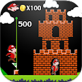 Super Adventures Gold of Mario APK for Bluestacks