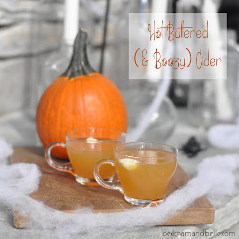 Hot Buttered (& Boozy) Cider