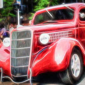 Hot Rod by Greg Croasdill - Transportation Automobiles ( car, michigan, ann arbor, drive, hot rod, ford, classic )