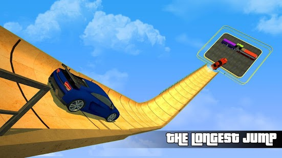 Biggest Mega Ramp Jump - Driving Games