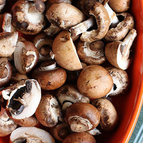 Garlic & Butter Roasted Mushrooms
