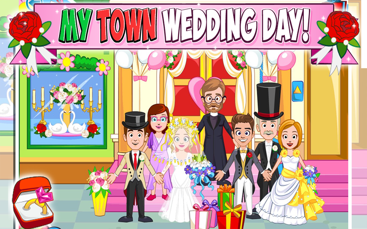 My Town : Wedding Screenshot