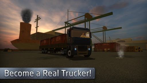 Euro Truck Driver (Simulator) screenshot 3