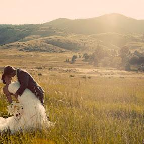 Romance by Debi Tipton - Wedding Bride & Groom