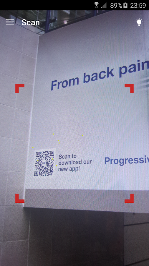QR & Barcode Reader PRO Screenshot 0