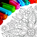 Mandala Coloring Pages APK for Bluestacks