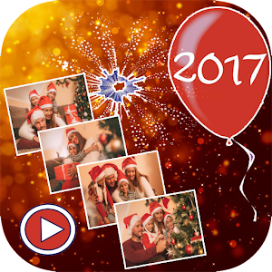 Happy New Year Video Maker