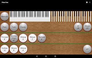 Screenshot of Pitea Free - The Church Organ