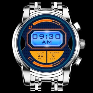 Timemachine Watchface - screenshot