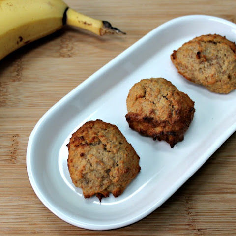 Banana & Nut Butter Paleo Cookies