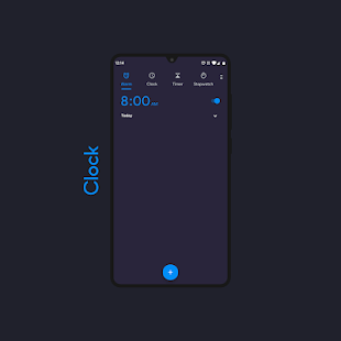 Twilight Night Dark ○ Substratum theme Screenshot