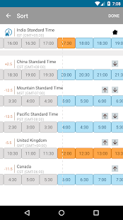 Free World Time Clock - screenshot