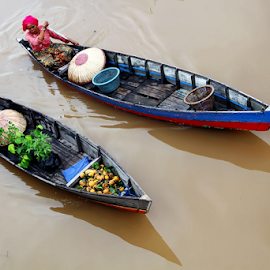 FLOATING MARKETS by Lay Sulaiman - City,  Street & Park  Markets & Shops