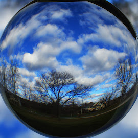 Sphere of clouds ~  by Annette Crivellaro - Digital Art Places