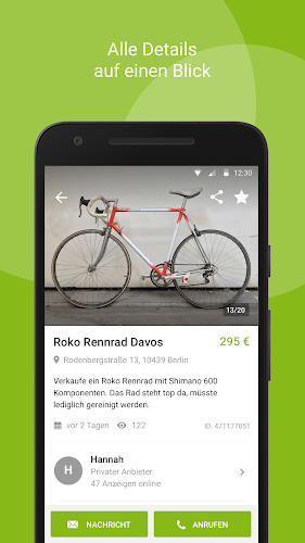 eBay Kleinanzeigen for Germany Android App Screenshot
