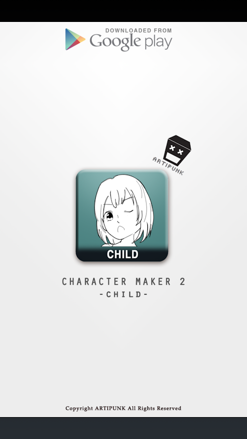 Character Maker - Children Screenshot