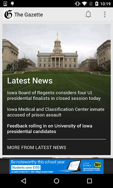 TheGazette.com screenshots