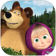 Masha and the Bear. Educational Games 2.7 Icon