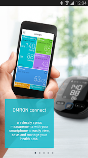 OMRON connect - screenshot
